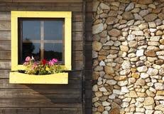 Fachada de la casa de campo Imagen de archivo