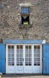 Fachada de la casa de campo Imagenes de archivo