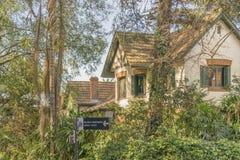 Fachada de la casa en San Isidro Buenos Aires Fotos de archivo