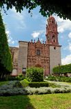 Fachada de la catedral Fotos de archivo