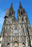 Fachada de la catedral de Colonia, Alemania, Europa imagen de archivo