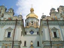 Fachada de la catedral de Dormition Foto de archivo