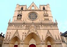 Fachada de la catedral de St John Imágenes de archivo libres de regalías