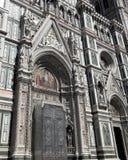 Fachada de la catedral de Florencia en Italia Fotografía de archivo libre de regalías