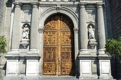 Fachada de la catedral metropolitana en Ciudad de México - México fotos de archivo libres de regalías