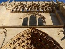 Fachada de la Coroneria, Burgos (España) Foto de archivo libre de regalías