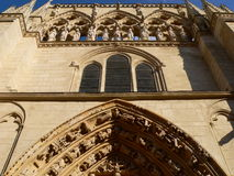 Fachada de la Coroneria, Burgos ( Spain ) Royalty Free Stock Photo