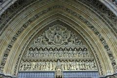 Fachada de la iglesia Foto de archivo libre de regalías
