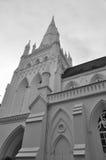 Fachada de la iglesia Imagen de archivo