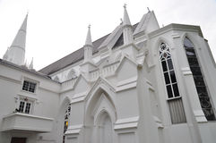 Fachada de la iglesia Imágenes de archivo libres de regalías