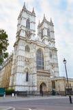 Fachada de la iglesia de la abadía de Westminster en Londres Imagenes de archivo