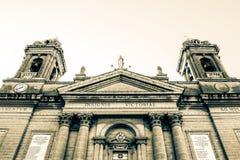 Fachada de la iglesia de nuestra señora de la basílica HDR s de Senglea de las victorias imágenes de archivo libres de regalías