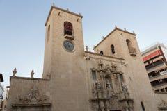 Fachada de la iglesia de Santa Maria Imagen de archivo