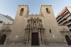 Fachada de la iglesia de Santa Maria Imagenes de archivo