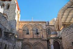 Fachada de la iglesia del sepulcro santo Foto de archivo