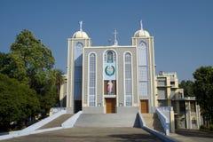 Fachada de la iglesia en Jhansi Foto de archivo libre de regalías