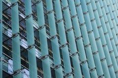 Fachada de la pared de la cortina de Sun Imagen de archivo