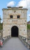 Fachada de la puerta de la ciudad de Kalmar Foto de archivo libre de regalías