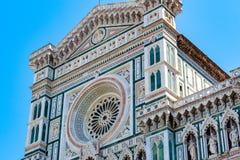 Fachada de los di Santa Maria del Fiore Cathedral de Cattedrale de Fotografía de archivo