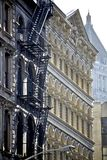 Fachada de los edificios Foto de archivo libre de regalías
