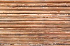 Fachada de madera Fotografía de archivo