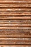 Fachada de madera en formato vertical Fotos de archivo