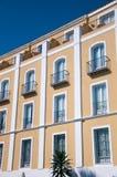 Fachada de Montecastillo del hotel Imágenes de archivo libres de regalías