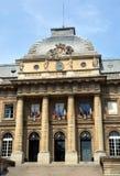 Fachada de Palais de Justiça Building, Paris França Imagens de Stock Royalty Free