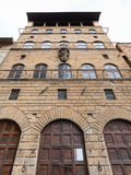 Fachada de Palazzo Davanzati na cidade de Florença Imagens de Stock Royalty Free