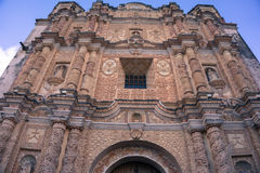 Fachada de San Domingo Imágenes de archivo libres de regalías