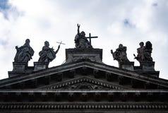 Fachada de San Juan de Letrán, Roma fotos de archivo libres de regalías