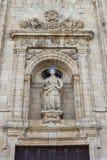 Fachada de San Nicolás en Villafranca del Bierzo Foto de archivo libre de regalías
