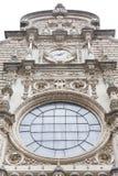 Fachada de Santa Maria de Montserrat Abbey, España Fotografía de archivo