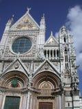 Fachada de Siena Cathedral Imagem de Stock Royalty Free