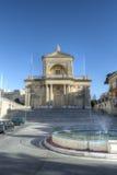 Fachada de St Joseph Church em Kalkara Malta HDR imagens de stock