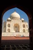 Fachada de Taj Mahal Imagens de Stock