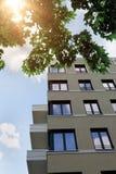 A fachada de um edifício moderno Imagem de Stock Royalty Free