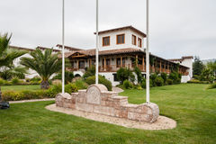 Adega no vale o Chile de Colchagua imagem de stock royalty free