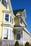 Fachada de uma casa colonial Foto de Stock