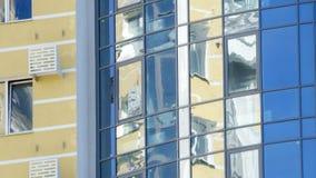 Fachada de uma construção moderna nova Imagem de Stock Royalty Free