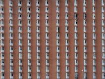Fachada de uma construção residencial Imagens de Stock Royalty Free