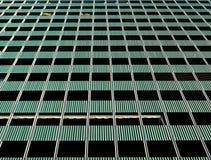 Fachada de uma construção residencial Fotografia de Stock Royalty Free