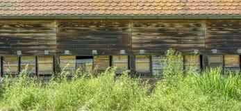 Fachada de un beehouse Fotos de archivo libres de regalías