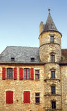 Fachada de un castillo Imágenes de archivo libres de regalías