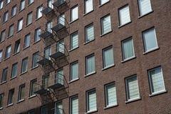 Fachada de un edificio fotos de archivo libres de regalías
