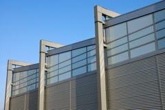 Fachada de un edificio de la fábrica Fotos de archivo