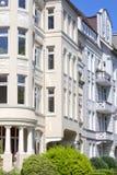 Fachada de un edificio de Nouveau del arte Imagen de archivo