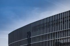Fachada de un edificio del negocio en Francfort, Alemania imagenes de archivo