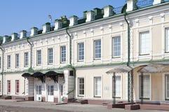 Fachada de un edificio histórico Foto de archivo libre de regalías