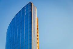 Fachada de un edificio moderno Foto de archivo